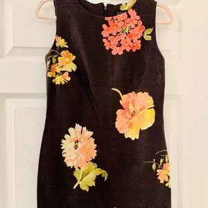 ELLEN TRACY LINEN DRESS